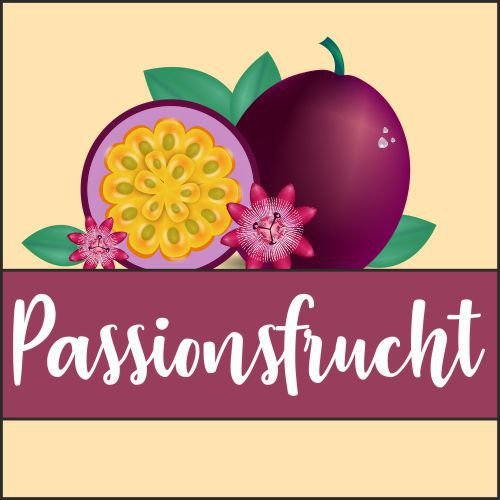 Wolkengarage Passionsfrucht 10ml