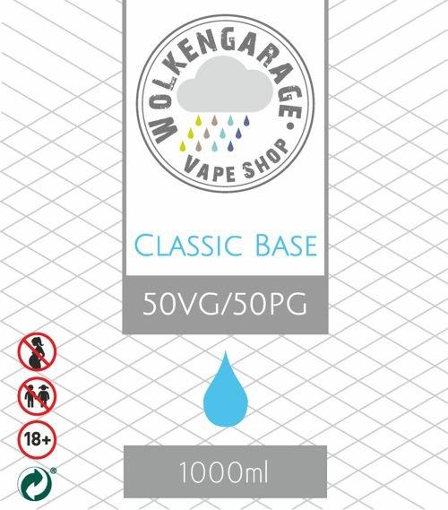 Wolkengarage Classic Base 1000ml 50VG/PG50 ohne Nikotin