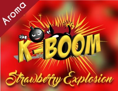 K-Boom Strawberry Explosion Aroma 10m