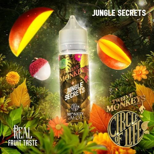 Twelve Monkeys Jungle Secrets 50ml Liquid