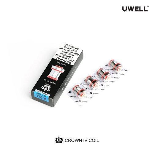 Uwell Crown 4 Coils Verdampferköpfe
