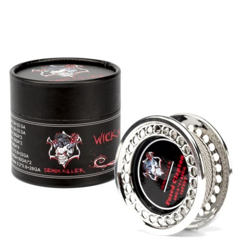 Demon Killer 5m Clapton Wire Wickeldraht + Watte