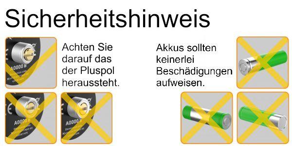 Sicherheitshinweis-Mech