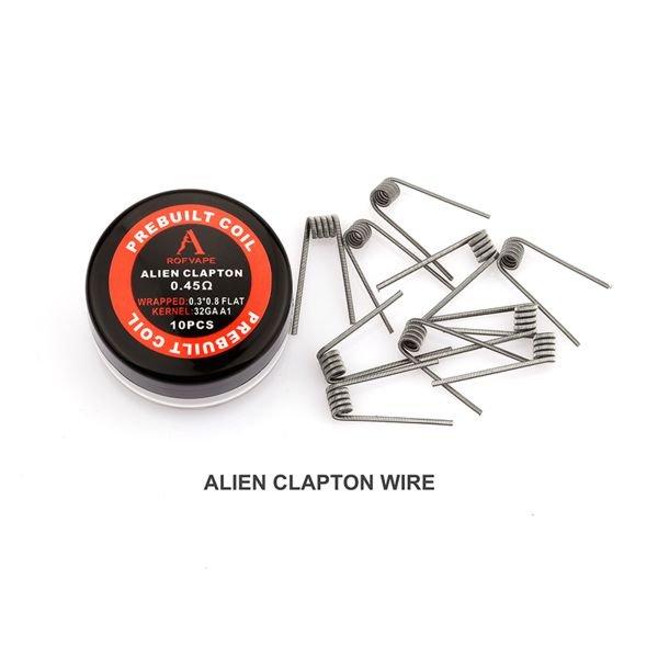Rofvape Alien Coils 0,45 Ohm Wicklungen 10 Stück