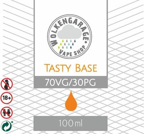 Wolkengarage Tasty Base 100ml Base 70VG/30PG ohne Nikotin