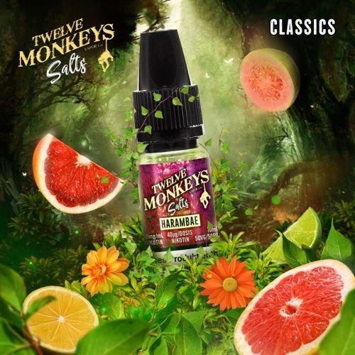 Twelve Monkeys Nic Salt Harambae Liquid