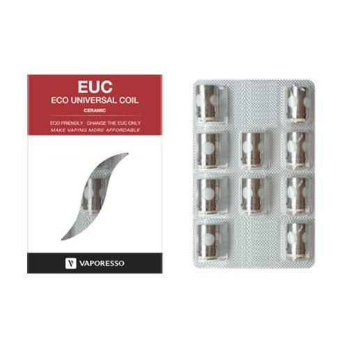 Vaporesso EUC Ceramic Coil 0,5 Ohm 10 Stück Estoc Tank