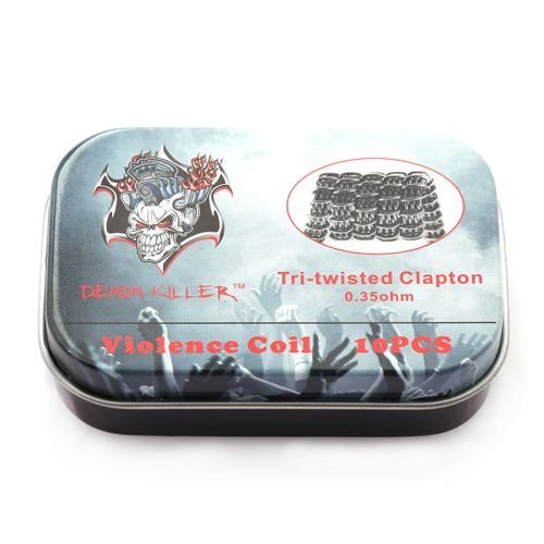 Demon Killer Tri-twisted Clapton Violence Coil