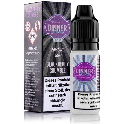 Dinner Lady SALTS Blackberry Crumble 20mg Liquid