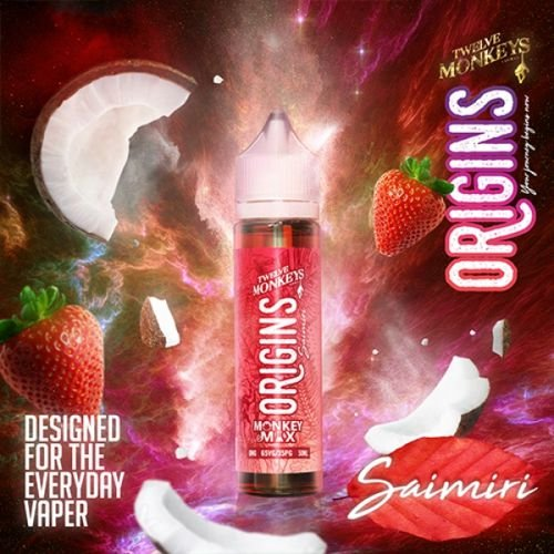 Twelve Monkeys Origins Saimiri 50ml Liquid