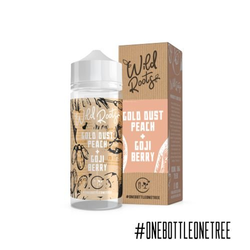Wild Roots Gold Dust Peach Liquid