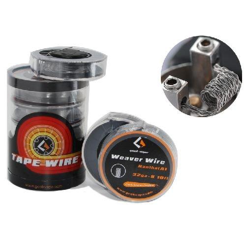 Geek Vape 3m Wickeldraht geflochten Weaver Wire Kanthal A1 32GA *8