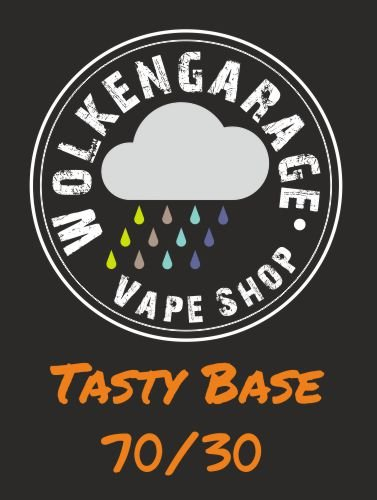 Wolkengarage Tasty Base 100ml Base 70VG/30PG ohne Nikotin
