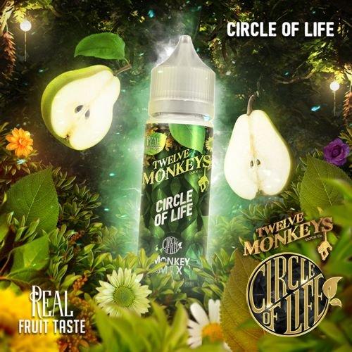 Twelve Monkeys Circle of Life 50ml Liquid