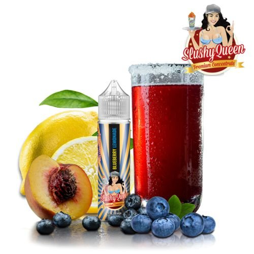 Pj Empire Slushy Queen Blueberry Lemonade Aroma