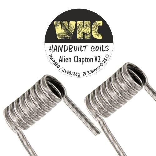 WHC Handmade Coils Alien Clapton V2
