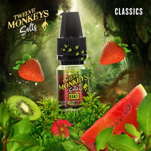 Twelve Monkeys Nic Salt Kanzi Liquid