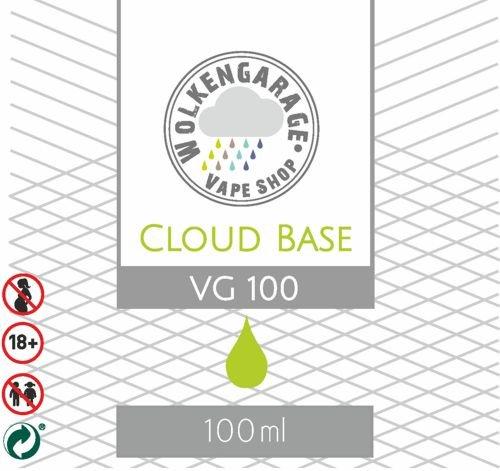 Wolkengarage Cloud Base 100ml 100VG ohne Nikotin