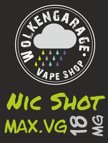 Cloud NicShot 10ml 100% VG 18mg