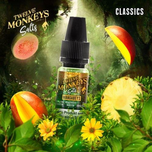 Twelve Monkeys Nic Salt Mangabeys Liquid