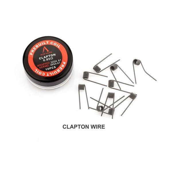 Rofvape Clapton Coils 0,85 Ohm Wicklungen 10 Stück