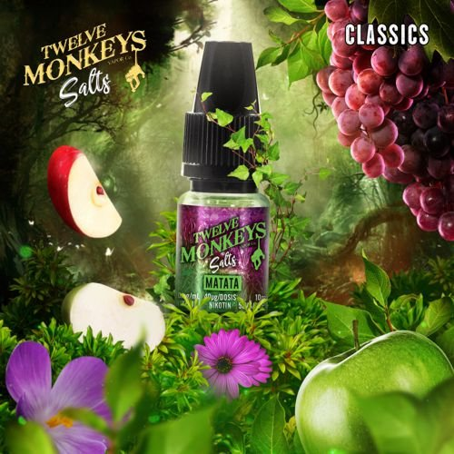 Twelve Monkeys Nic Salt Matata Liquid